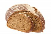 Preview Bread Loaf On White Background
