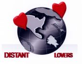 stock photo of long distance relationship  - A Illustration representing long distance relationships - JPG