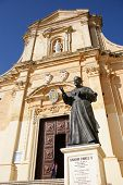 pic of gozo  - medieval Cathedral of the Assumption - JPG