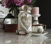 image of pompous  - bouquet of peonies on the table tea break - JPG
