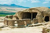picture of pagan  - Cave antient pagan city Uplistsihe  - JPG