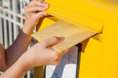 picture of mailbox  - Close - JPG