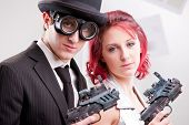picture of superwoman  - superman and superwoman strange disguise superheros at your service - JPG