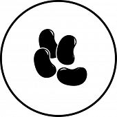 foto of jelly beans  - jelly beans symbol - JPG