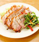 picture of pork  - Asian bbq pork - JPG