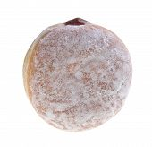 pic of donut  - donut sweet donut with sugar isolated on white background - JPG