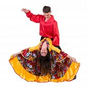 pic of gypsy  - Gypsy flamenco dancer couple - JPG