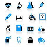 Постер, плакат: медицинские значки