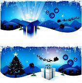 pic of santa sleigh  - Christmas background - JPG