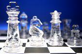 Постер, плакат: Игра в шахматы