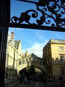 Постер, плакат: Мост Вздохов Оксфорд Великобритания