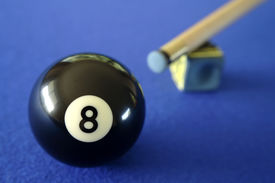picture of pool ball  - Pool ball - JPG