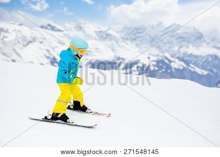 Ski And Snow Winter Fun