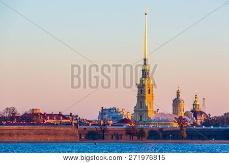 Peter And Paul Fortress At