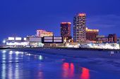 ATLANTIC CITY, NJ - SEPTEMBER 8: Casinos am 8. September 2012 in Atlantic City, New Jersey. Gamblin