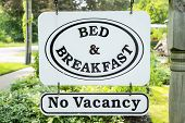 Bed & Breakfast Sign