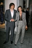 Paul WS Anderson and Milla Jovovich at the Tom Ford Beverly Hills Store Opening, Tom Ford, Beverly H