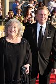 Kathy Bates, Christopher McDonald at the 18th Annual Screen Actors Guild Awards Arrivals, Shrine Aud