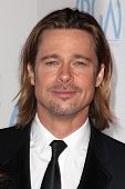 Brad Pitt at the 23rd Annual Producers Guild Awards, Beverly Hilton, Beverly Hills, CA 01-21-12