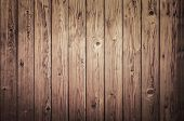 picture of log fence  - Background of an old natural wooden darken room with messy and grungy cracked tree floor of beech texture inside vintage - JPG