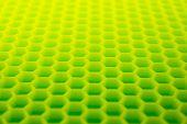 pic of hexagon  - Yellow green hexagon abstract background - JPG