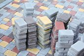 image of paving  - Tile paving - JPG