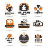 stock photo of basketball  - Basketball - JPG