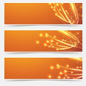 pic of electricity  - Bright cable bandwidth speed swoosh header  - JPG