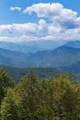 foto of naturel  - View of the Pyrenees at Biert in France - JPG