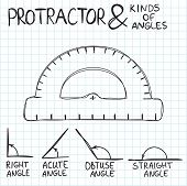 picture of protractor  - Hand - JPG