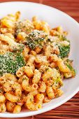 Постер, плакат: Pasta With Broccoli