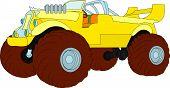 pic of monster-truck  - vector  - JPG