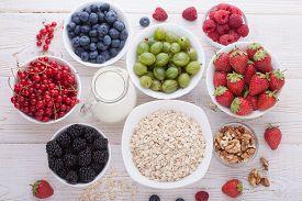 picture of breakfast  - Summer breakfast - JPG