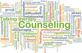 foto of counseling  - Background concept wordcloud illustration of counseling - JPG