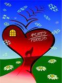 picture of broken heart flower  - The broken heart - JPG