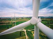 Wind Turbine, Wind Energy Concept. poster