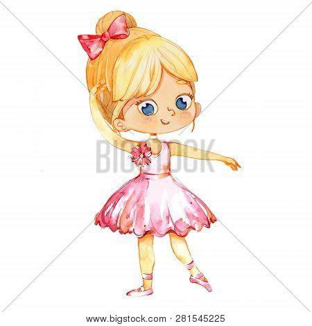 Blond Ballerina Princess Character Dancer