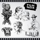 film noir - vintage collection