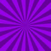 Purple Sunburst Abstract Texture. Purple Shiny Starburst Background. Abstract Sunburst Effect Backgr poster