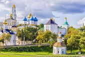 Sergiev Posad, Russia .gold Ring Of Russia poster