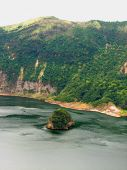 picture of batangas  - A picture of an island within a lake in taal volcano Philippines - JPG