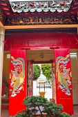Red Doors Tin Hau Temple,sea Godess, Stanley, Hong Kong