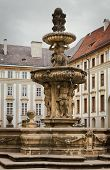 image of leopold  - Kohl Fountain Also Known As Lion Fountain Or Leopold Fontain In Praga Palace - JPG