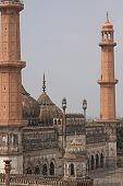 picture of imambara  - Mosque at the 18th Century Bara Imambara complex in Lucknow Uttar Pradesh India - JPG