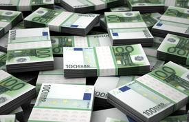 image of billion  - Billion Euros Concept Image  - JPG