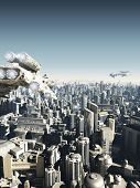 Future City Under Attack