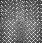 Постер, плакат: Металлическая текстура серебро и черный цвет