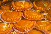 image of bangla  - India tasty fresh sweets background taken in the market - JPG