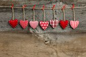 foto of elm  - Red patterned Valentine - JPG