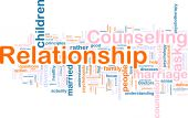 stock photo of counseling  - Word cloud concept illustration of relationship counseling - JPG